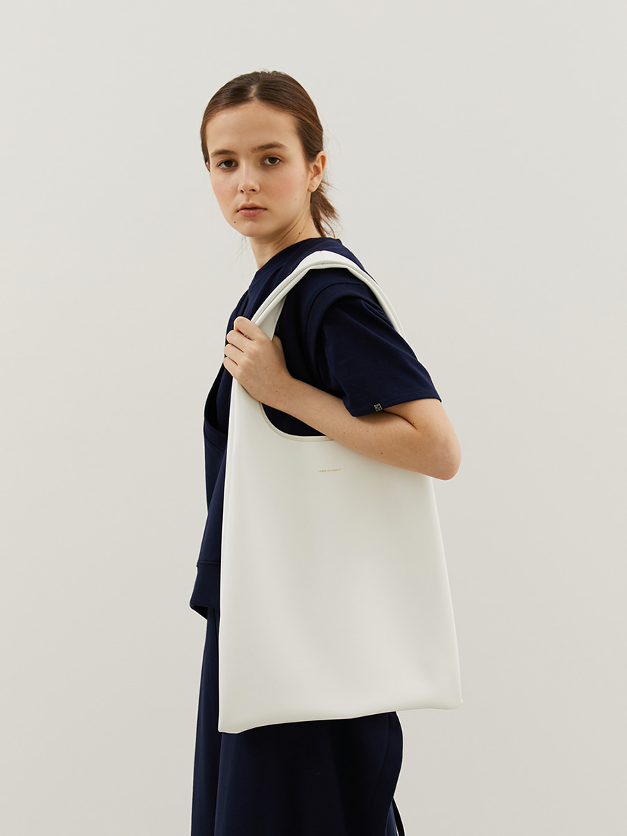 Soft Shoulder Bag (White)