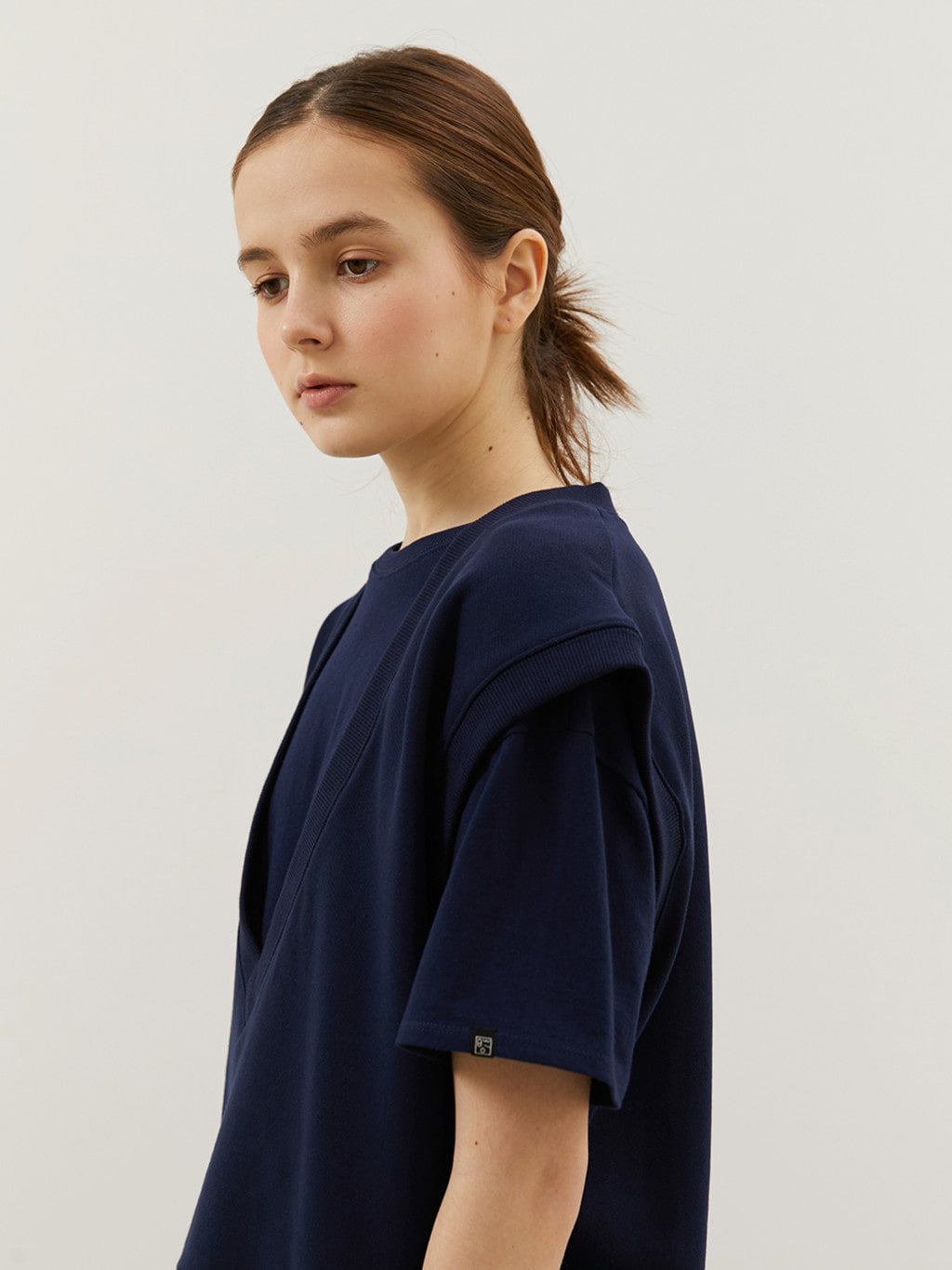 Basic T-shirts (Navy)
