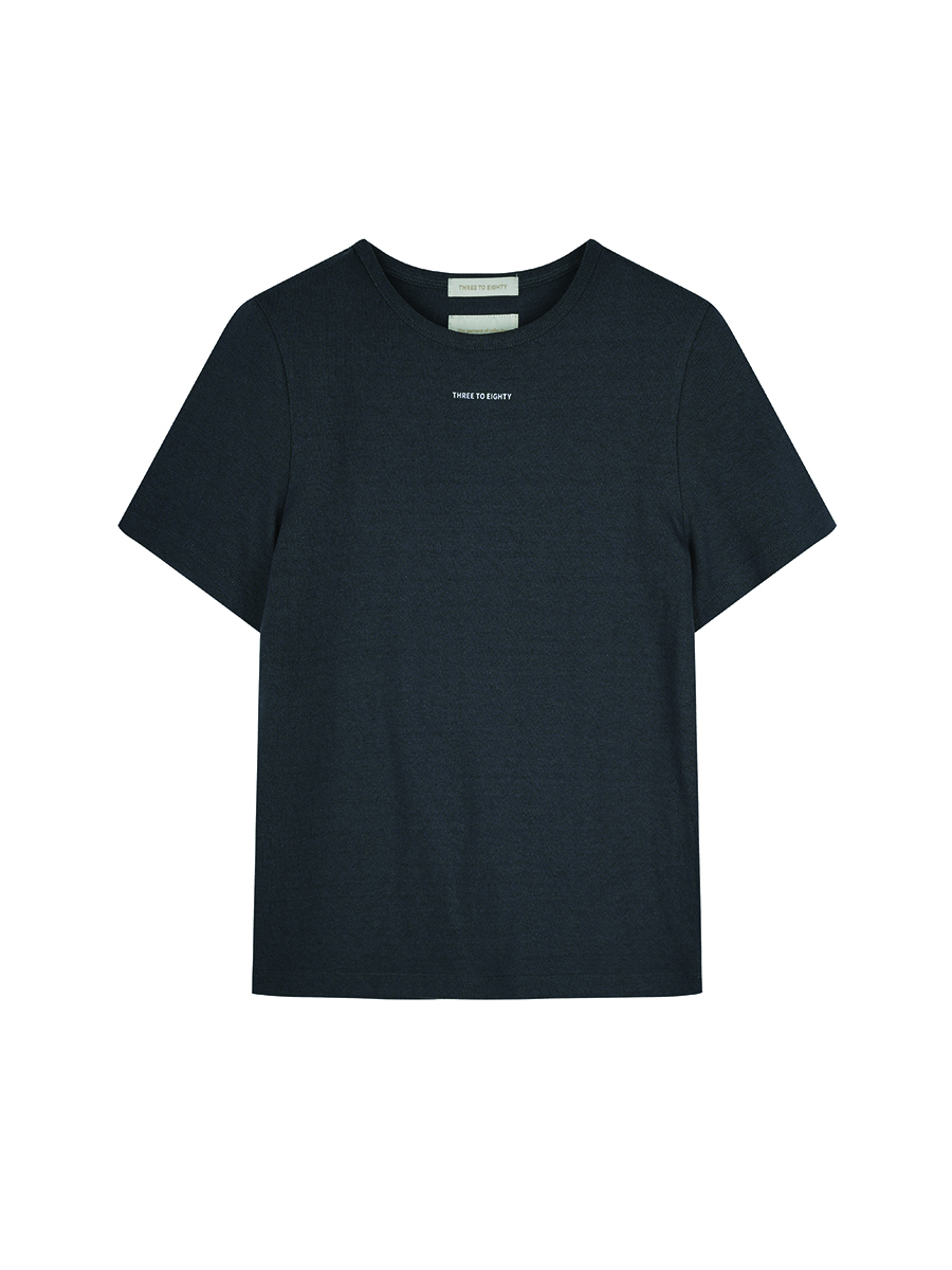 Text Logo T-shirts (Charcoal)