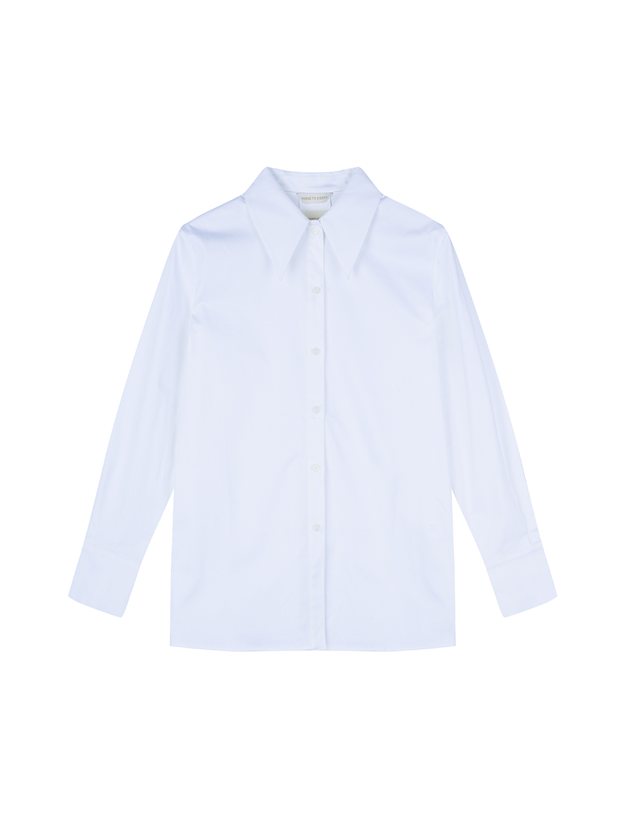Pin-Tuck Shirts (White)
