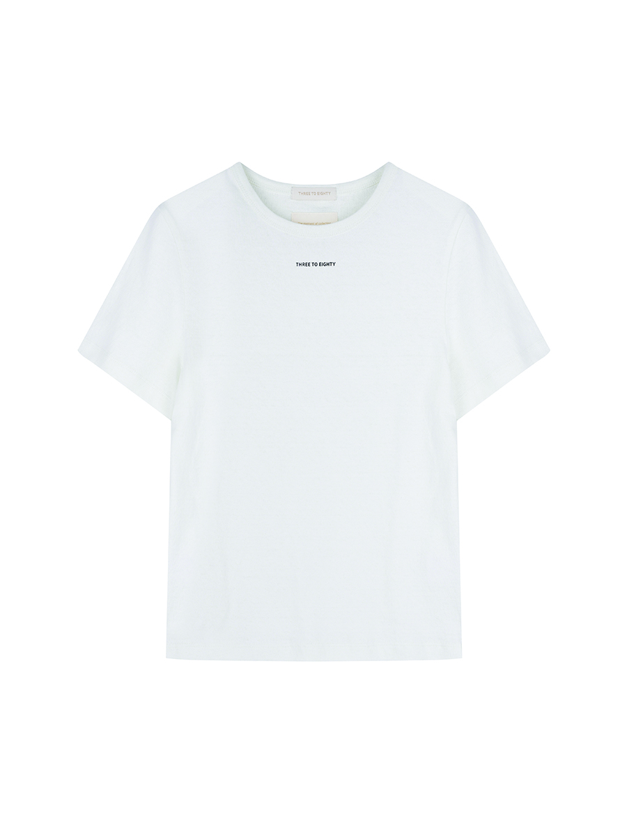 Text Logo T-shirts (White)