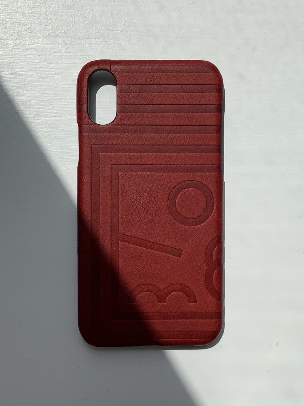 HC Leather Case iPhone (Red)