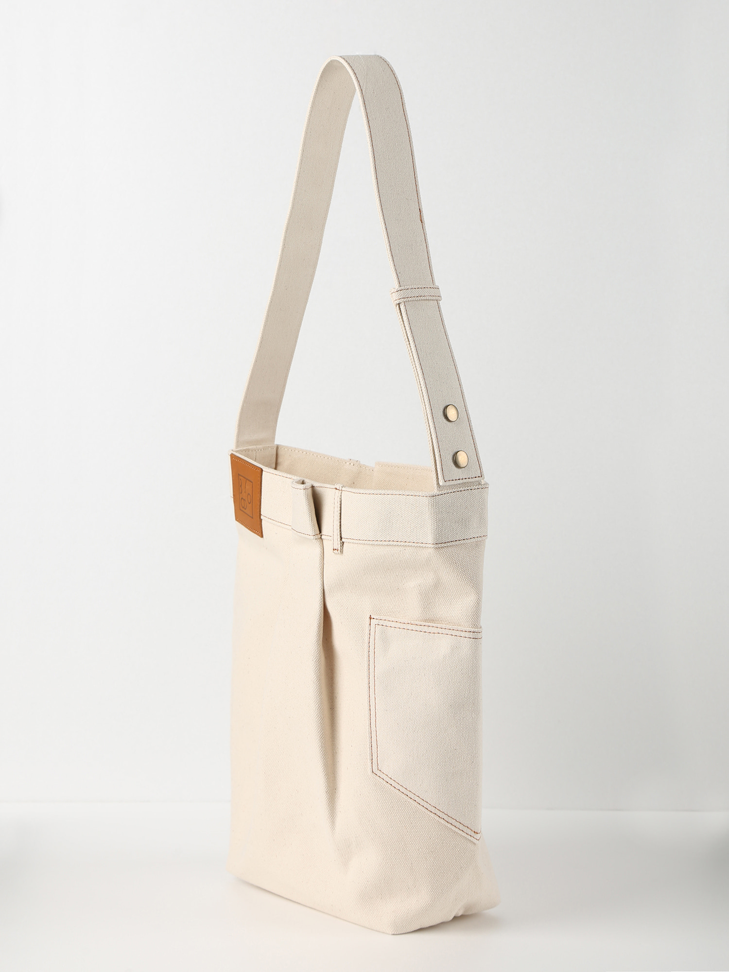 Folded Cotton Bag