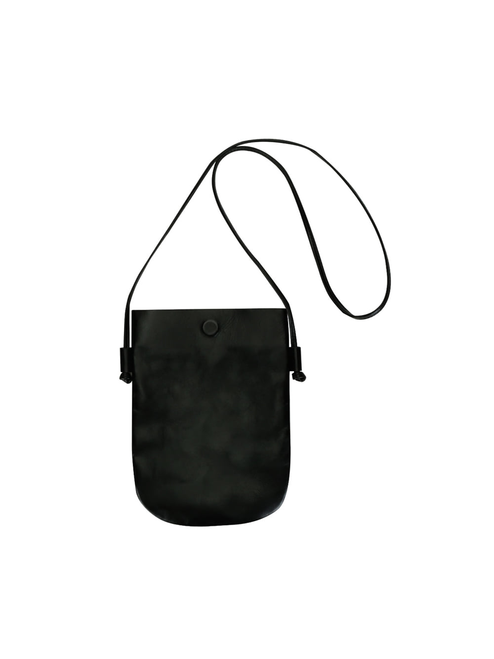 Leather Cross Bag (Black)