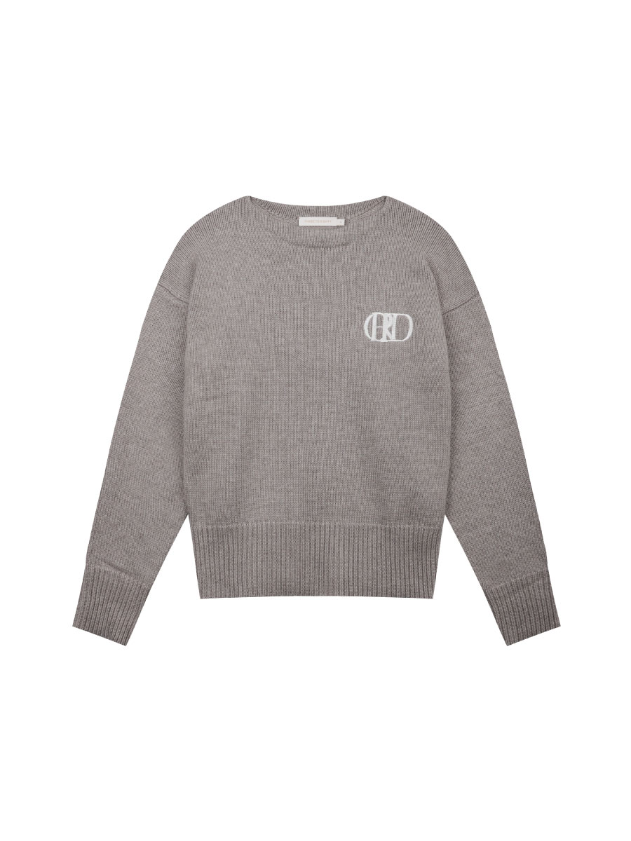 Embroidery Knitted Jumper
