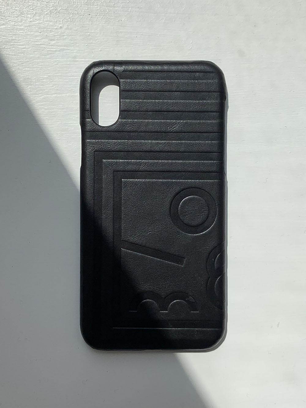 HC Leather Case iPhone (Black)