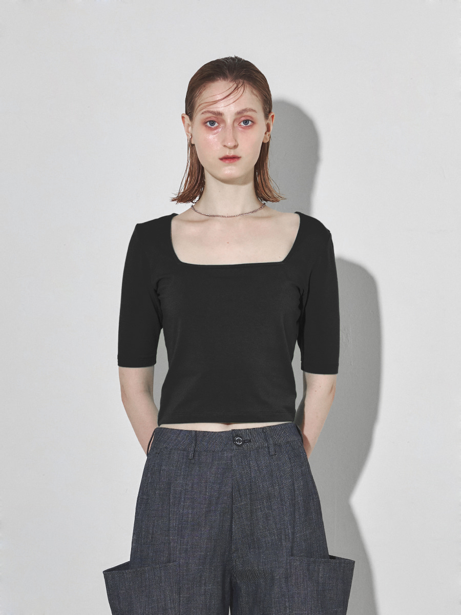Square Slim Top (Black)